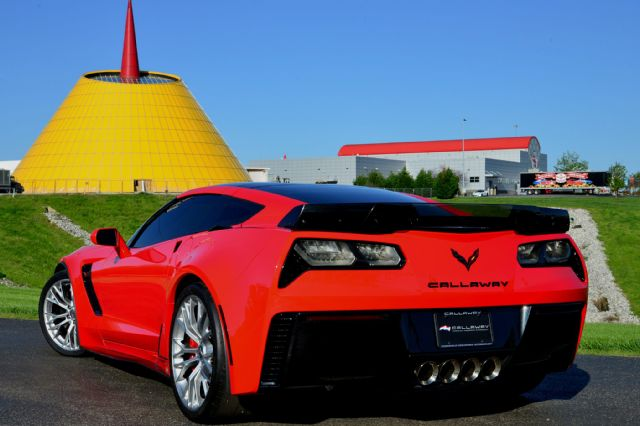 2015 Red Corvette Z06 at NCM