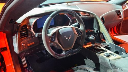 2019 Corvette ZR1 interior