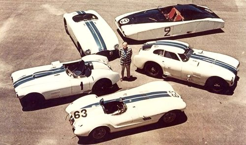 Briggs Cunningham and C-Series race cars.