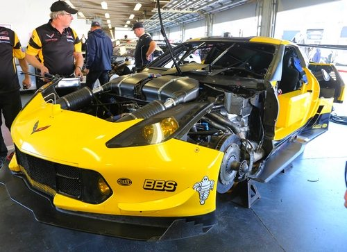 5.5 Liter Engine Corvette C7.R