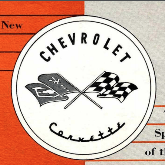 1953 Corvette Sales Brochure