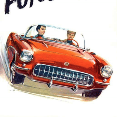 1957 Corvette Sales Brochure1