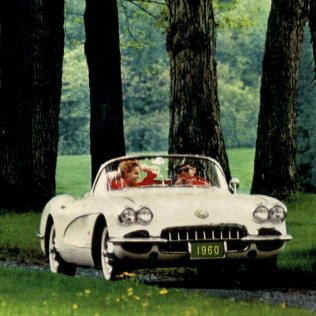 1960 Corvette Sales Brochure