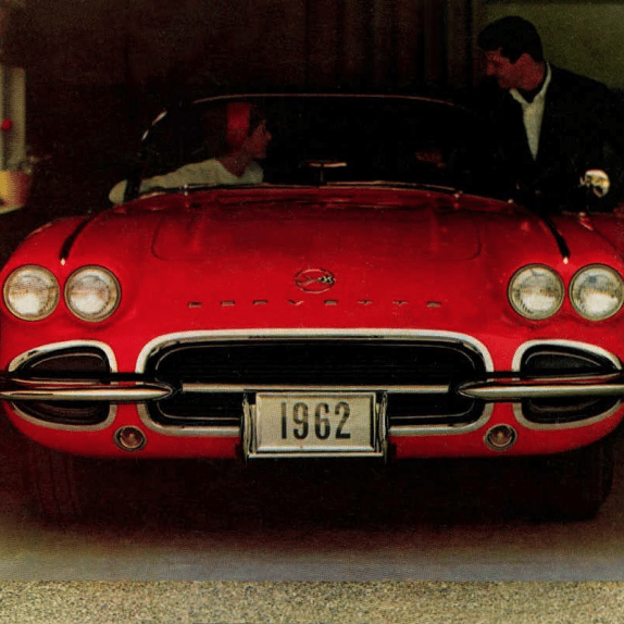 1962 Corvette Sales Brochure