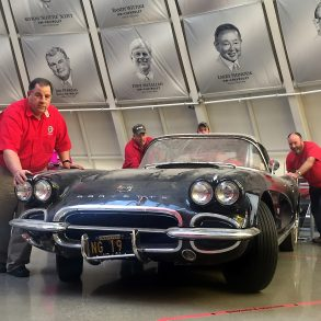 1962 Corvette Restoration Begins