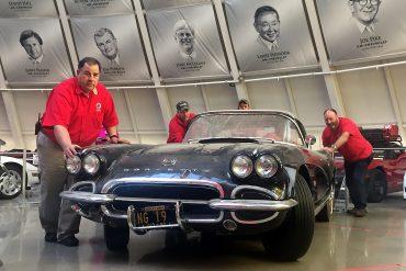 1962 Corvette Restoration Begins