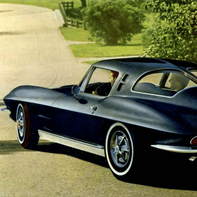 1963 Corvette Sales Brochure