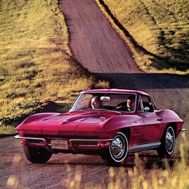 1964 Corvette Sales Brochure