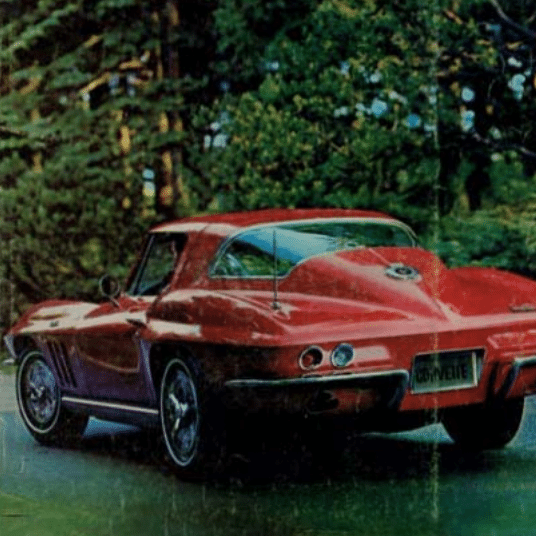 1966 Corvette Sales Brochure