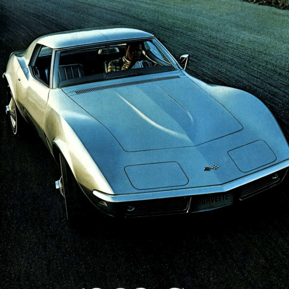1968 Corvette Sales Brochure