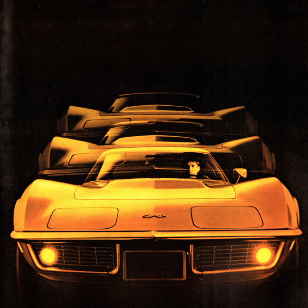 1969 Corvette Sales Brochure