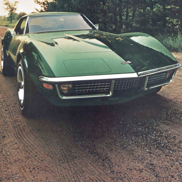 1971 Corvette Sales Brochure