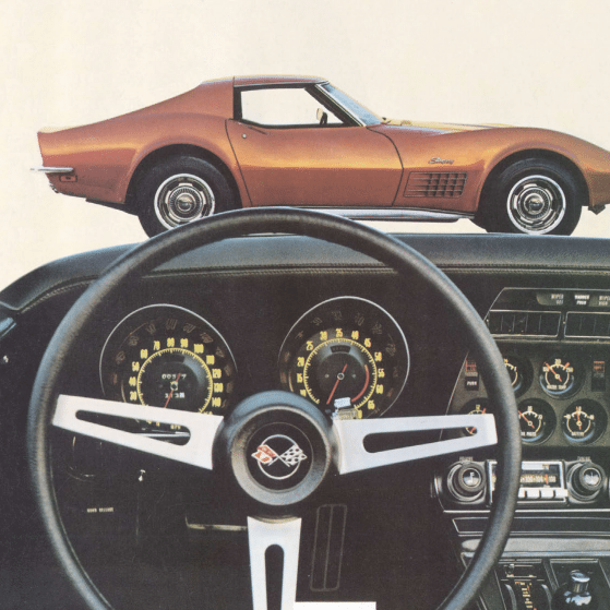 1972 Corvette Sales Brochure