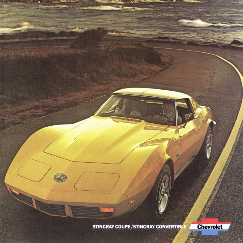 1973 Corvette Sales Brochure