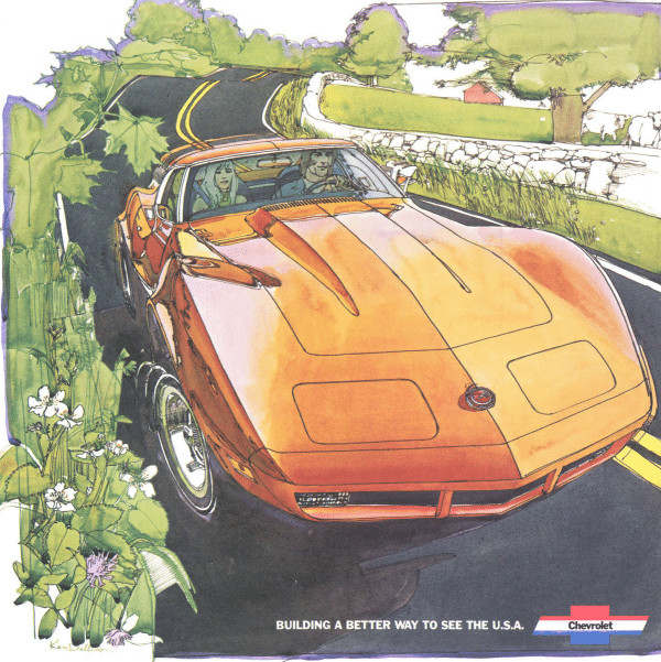 1974 Corvette Sales Brochure