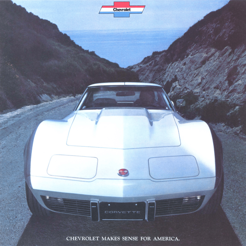 1975 Corvette Sales Brochure