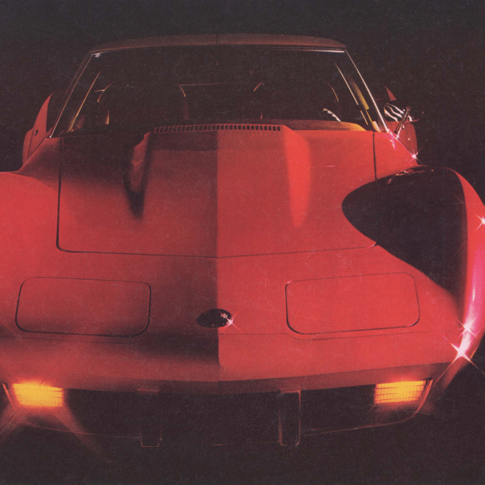 1976 Corvette Sales Brochure