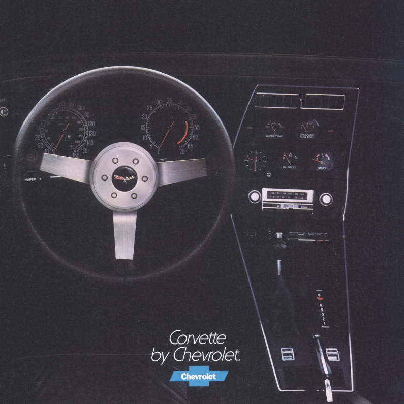 1977 Corvette Sales Brochure