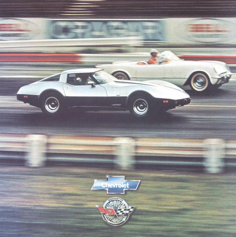 1978 Corvette Sales Brochure