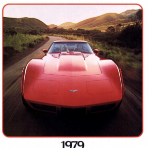 1979 Corvette Sales Brochure