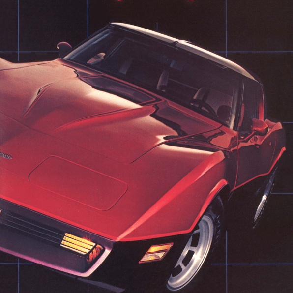 1981 Corvette Sales Brochure