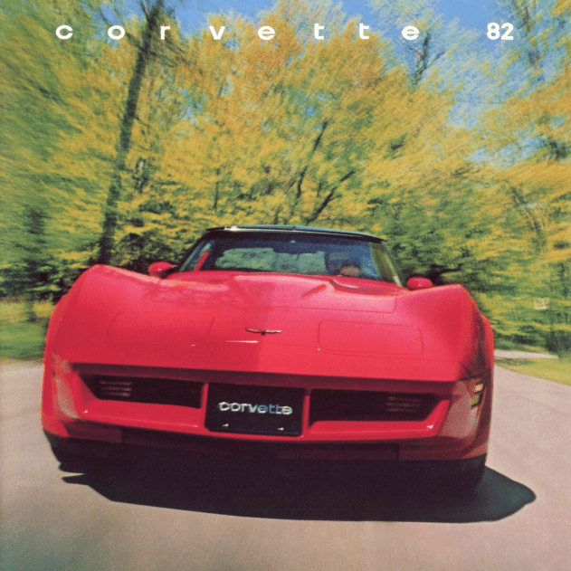 1982 Corvette Sales Brochure