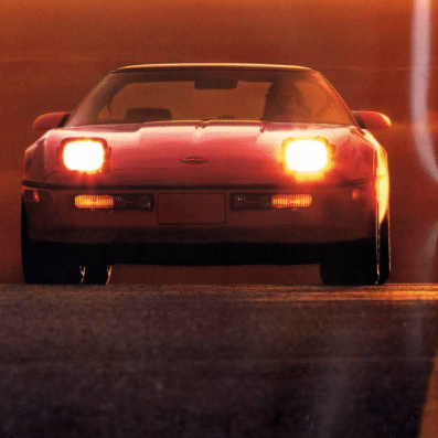 1987 Corvette Sales Brochure