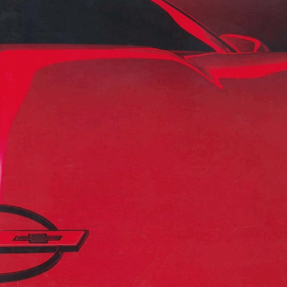 1988 Corvette Sales Brochure