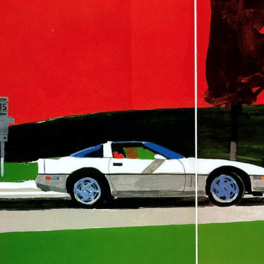 1989 Corvette Sales Brochure