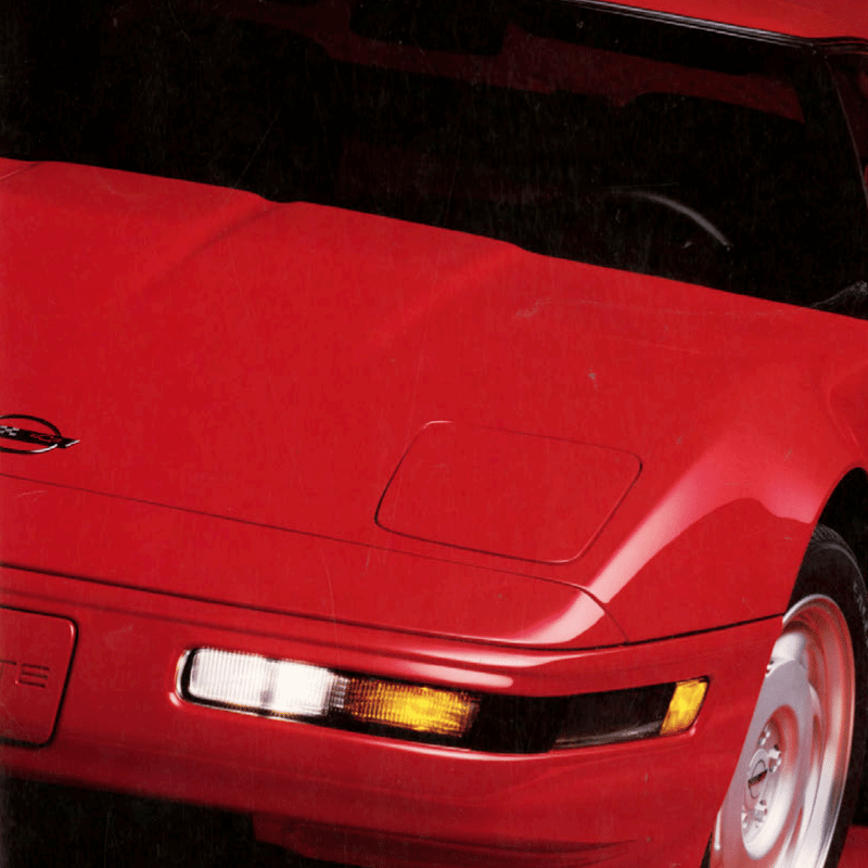 1991 Corvette Sales Brochure