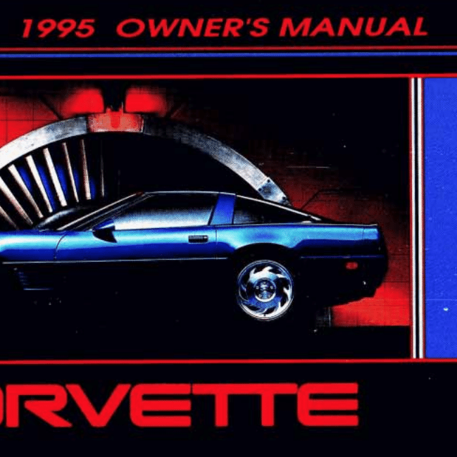 1995 Corvette Owners Manual