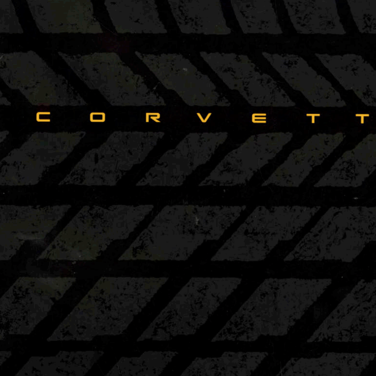 1995 Corvette Sales Brochure