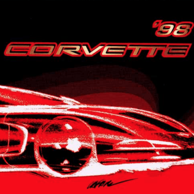 1998 Corvette Owners Manual