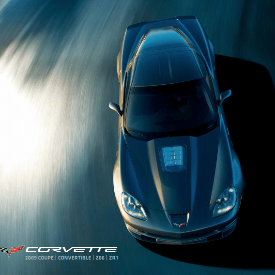 2009 Corvette Sales Brochure