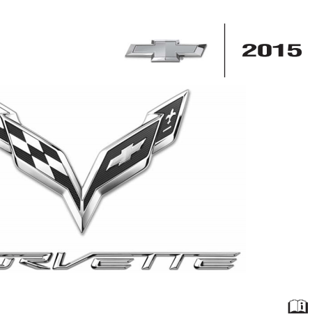 Corvette 2015 Owners Manual