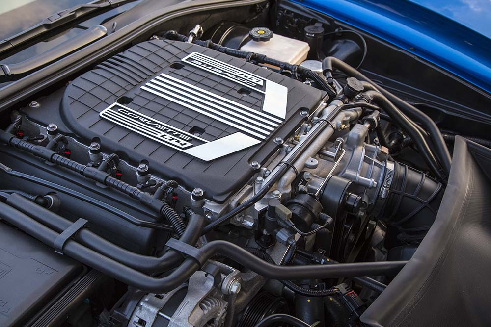 2015 LT4 Engine in Corvette Z06