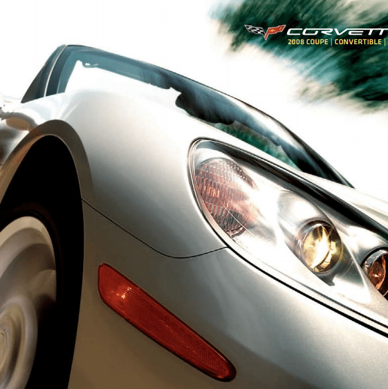 2008 Corvette Sales Brochure