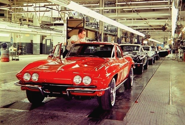 St. Louis Missouri Corvette Plant