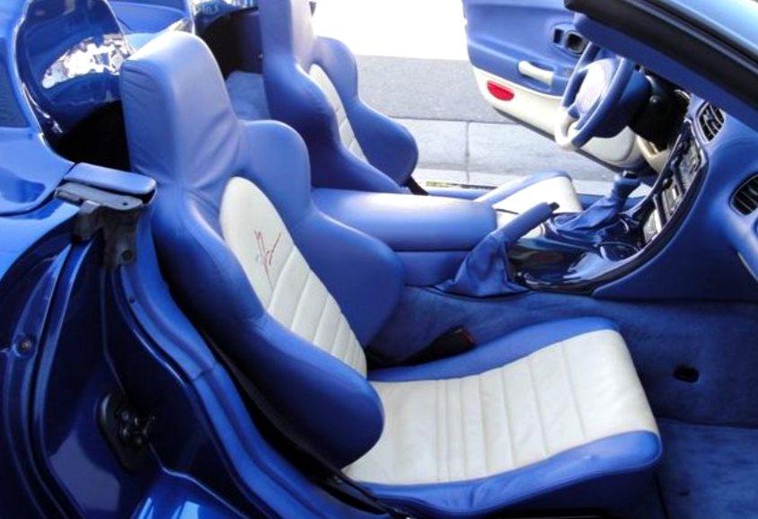 1999 Callaway C12 interior