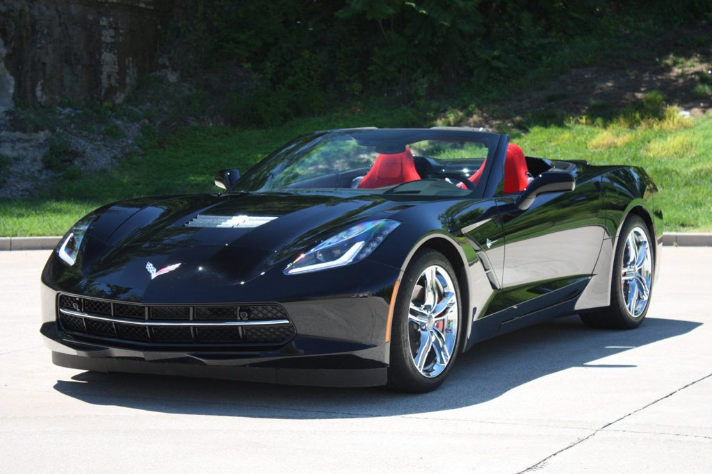 2016 Corvette Stingray convertible black