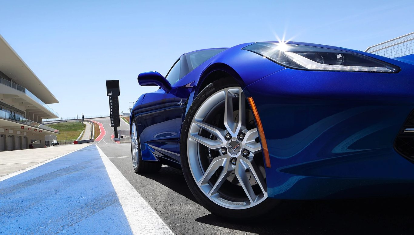 2019 Opulent Blue Metallic Corvette Coupe