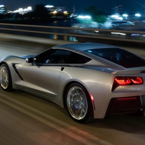 2019 Corvette Switchblade Silver Metallic