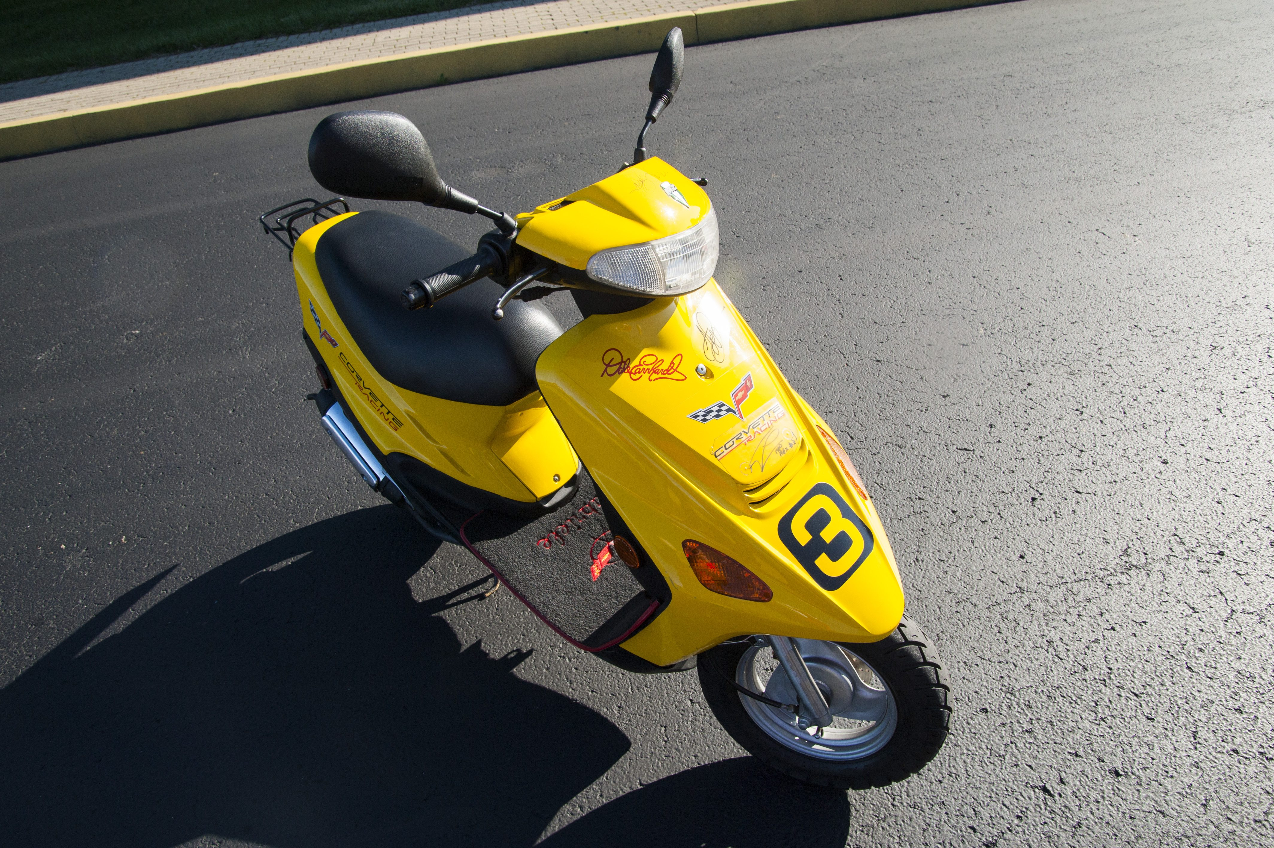 The No. 3 Corvette Racing Scooter