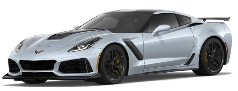 Corvette Configurator image of the 2019 Corvette ZR1