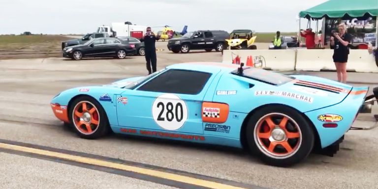 2006 Ford GT Texas Mile