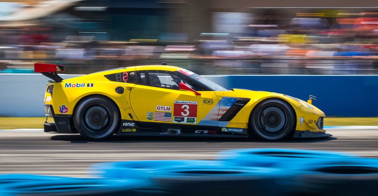 No. 3 Corvette C7.R at Sebring