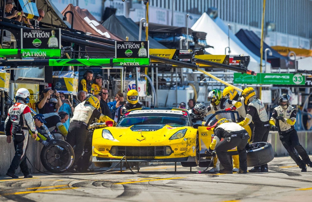 No .3 C7.R Corvette at Sebring