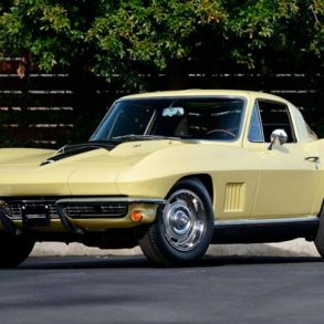 1967 Corvette Sunfire Yellow