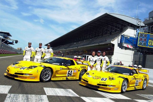Corvette Racing C5-R Racing Team