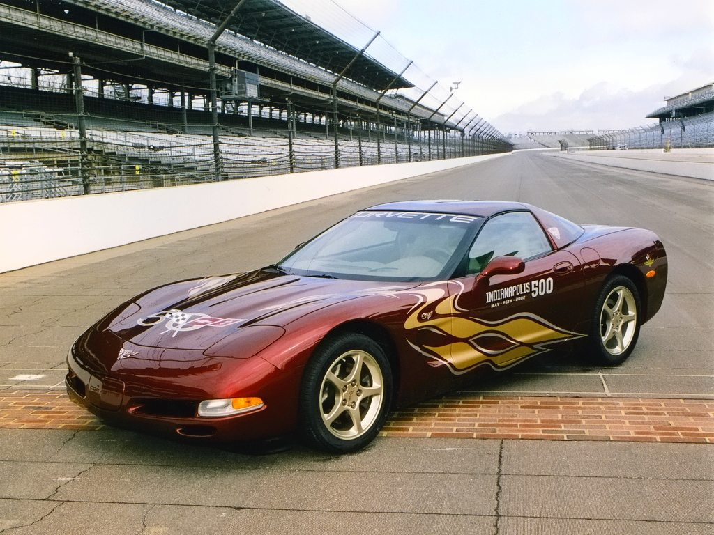 2002 Chevy Corvette Pace Car Jim Caviezel